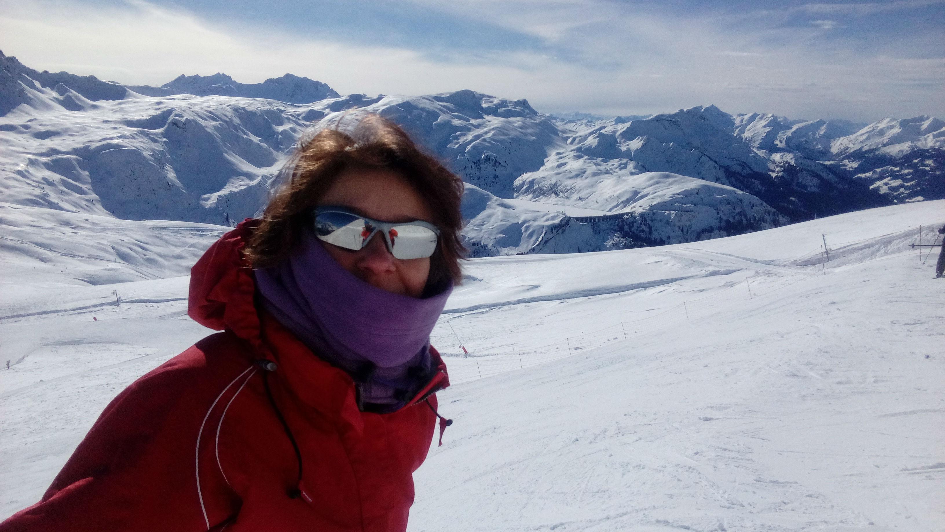 le ski et la zone de confort