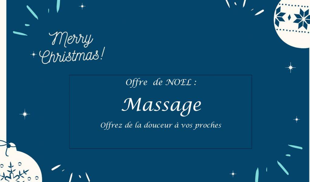 Offre massage noel 2019